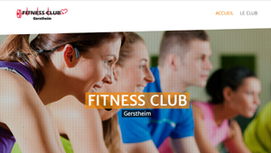 Creation de Site Internet Fitness Club Gerstheim NetYkars