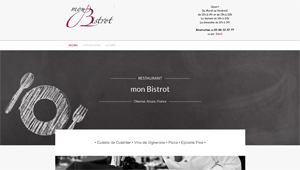 Creation du site restaurant mon bistrot NetYkars